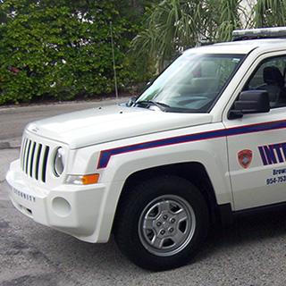Marked Patrol Cars