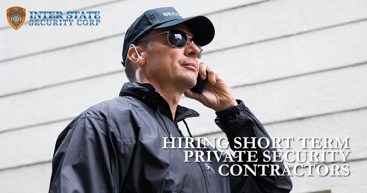 private security contractors