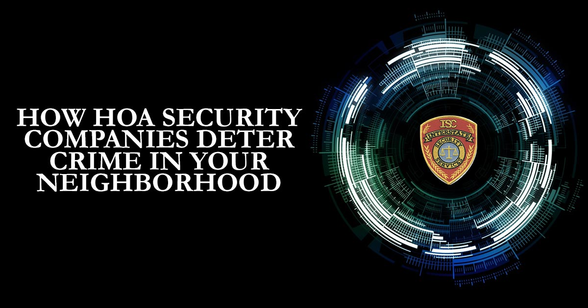 HOA security companies
