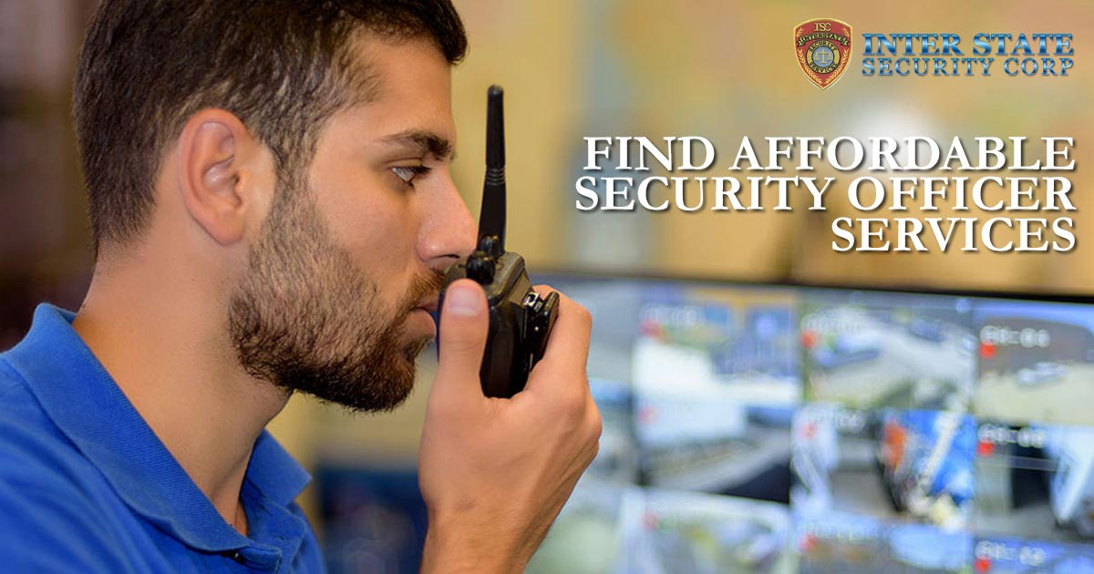 Affordable Security Officer Services