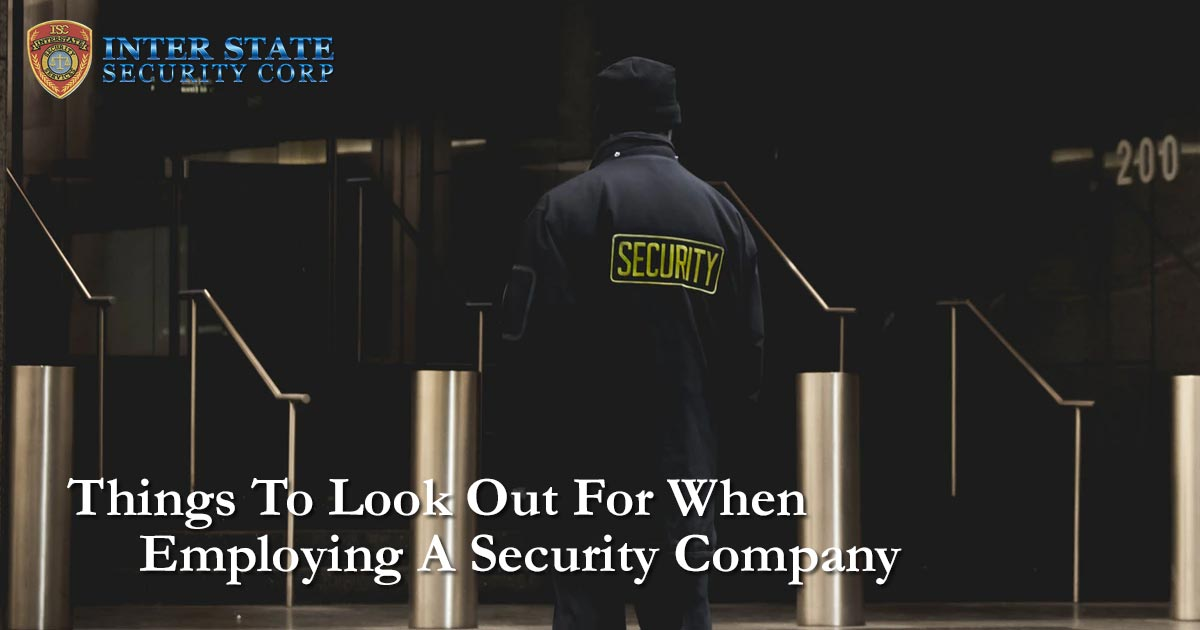 Employing A Security Company