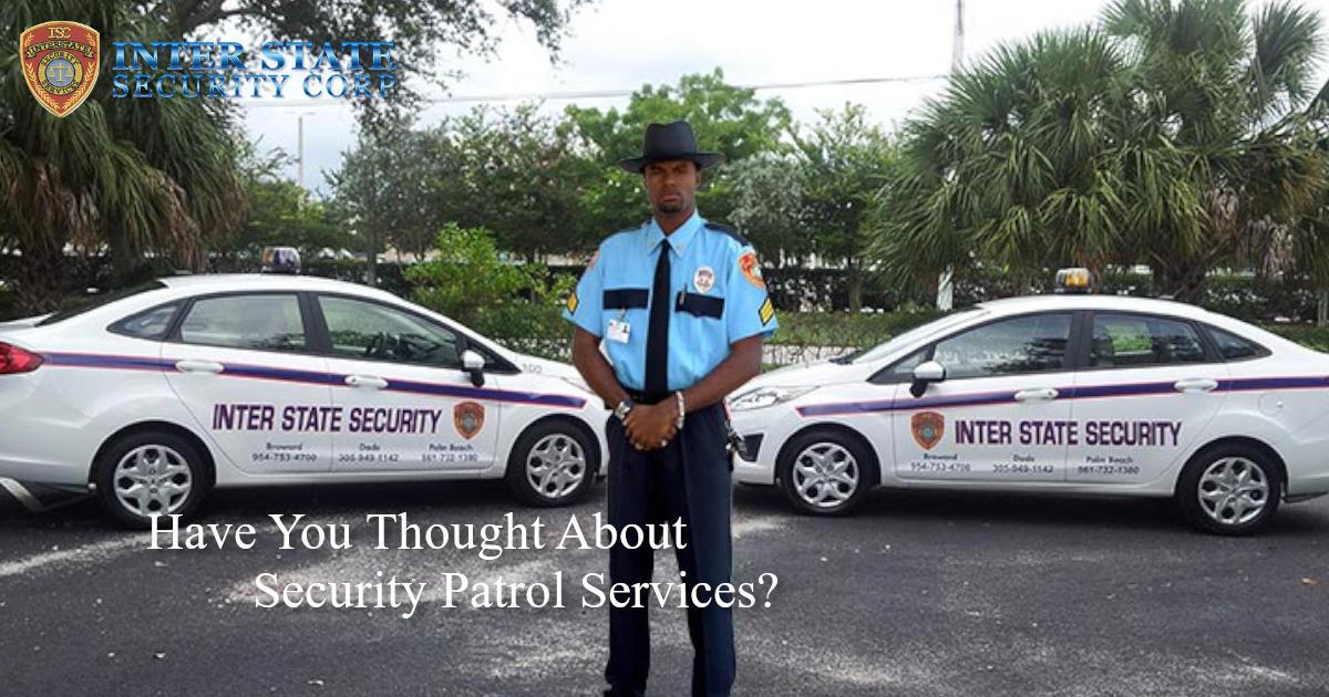 Security Patrol Services