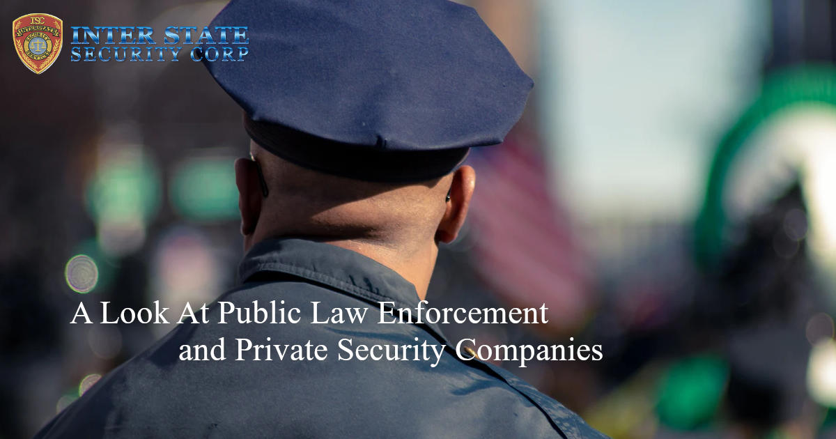public law enforcement and private security