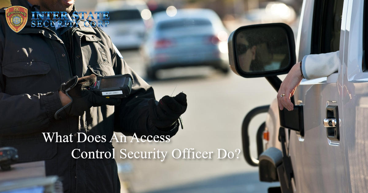 access control security officer